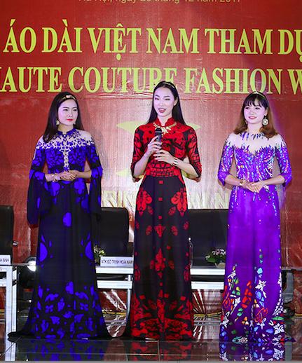 Áo dài Việt mở màn Paris Fashion Week - Haute Couture 2018 - Ảnh 2.