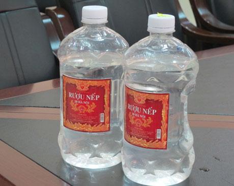 Loại rượu chứa methanol từng khiến 3 trường hợp ở Quảng Ninh tử vong do ngộ độc