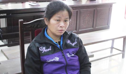 Bị cáo Moong Mẹ Phia tại phiên tòa