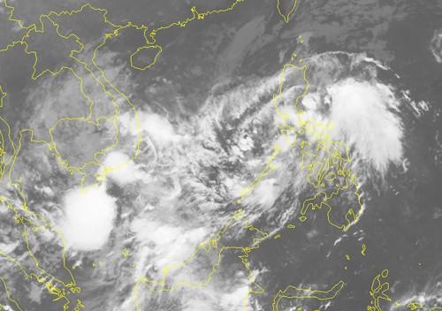 Bão và áp thấp nhiệt đới song hành uy hiếp Nam Bộ - Ảnh 2.