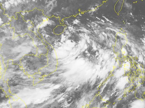 Áp thấp nhiệt đới khả năng mạnh lên thành bão, uy hiếp Bắc Bộ - Ảnh 2.