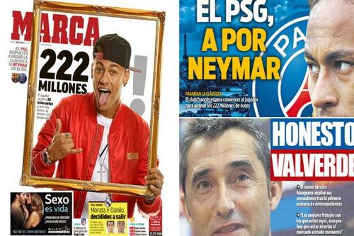 Paris Saint-Germain sẵn sàng đốt tiền vì Neymar - Ảnh 2.