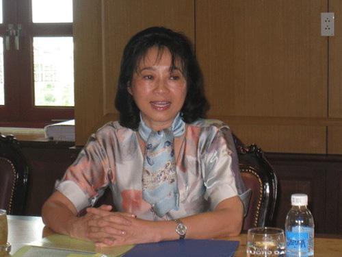 Bà Đặng Thị Hoàng Yến kiêm luôn Tổng giám đốc Công ty Tân Tạo - Ảnh 1.