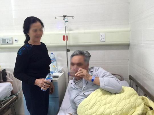 Sức khoẻ bệnh nhân V.V.H. ổn định sau khi được lấy dị vật là viên thuốc còn nguyên vỏ nhôm