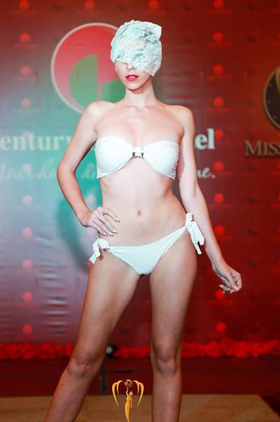 Thí sinh Hoa hậu Trái đất khoe hình thể với bikini - Ảnh 8.
