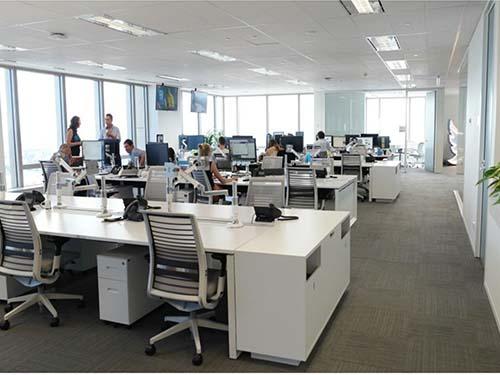 Văn phòng làm việc dù có sạch sẽ vẫn tìm ẩn nguy cơ gây bệnh Ảnh: Spandas Lui