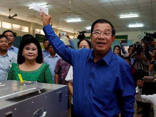 Thủ tướng Hun Sen tự tin - Ảnh 1.