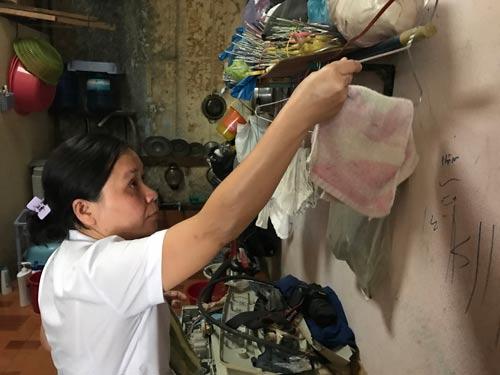 Chị Phạm Thị Thảo cho biết với thu nhập hiện tại thì chuyện mua nhà ở chỉ có trong giấc mơ