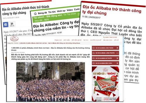 Địa ốc Alibaba tự ý chào bán cổ phiếu? - Ảnh 1.
