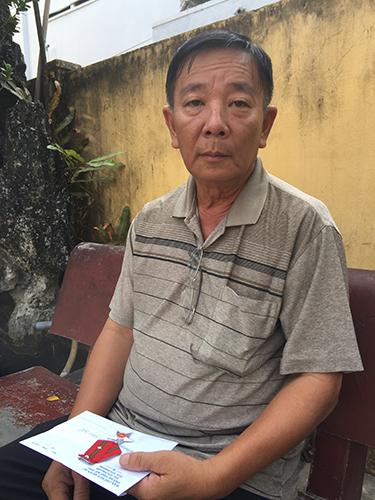 """Ông Đinh Minh Triết bức xúc vì bị """"ém"""" Huân chương Chiến công hạng ba 12 năm"""