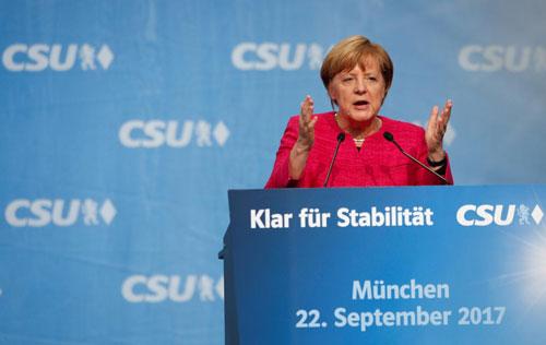 Tường thành Merkel - Ảnh 1.