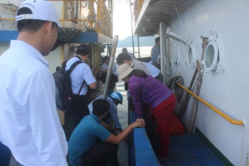 Hãng tàu đổ thừa ngư dân - Ảnh 1.