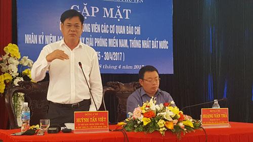 Ông Huỳnh Tấn Việt thừa nhận có sai sót trong việc triển khai một số dự án và khẳng định sẽ chấn chỉnh