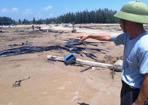 Kê lố hàng trăm tỉ đồng thiệt hại do bão - Ảnh 1.