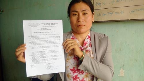 Bà Thảo được ký hợp đồng kế toán nhưng lại bị phân công chăm sóc cây xanh