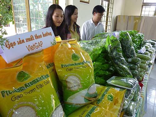 Sản phẩm nông sản sạch thật thụ chỉ chiếm 20% trên thị trường