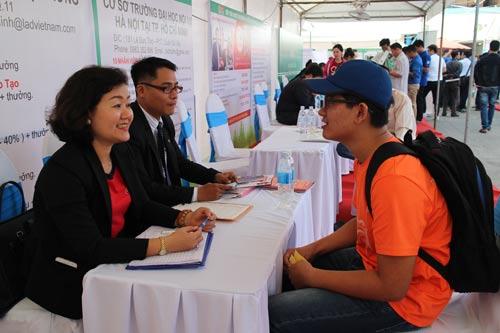 Tuyển dụng lao động tại sàn giao dịch việc làm do Trung tâm Dịch vụ việc làm thanh niên TP HCM tổ chức