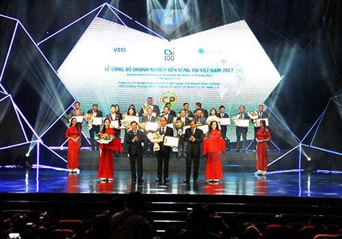 C.P. Việt Nam vào Top 100 doanh nghiệp phát triển bền vững - Ảnh 1.