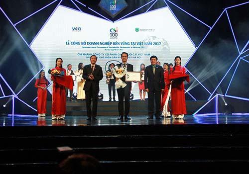 C.P. Việt Nam vào Top 100 doanh nghiệp phát triển bền vững - Ảnh 2.