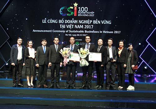 C.P. Việt Nam vào Top 100 doanh nghiệp phát triển bền vững - Ảnh 3.