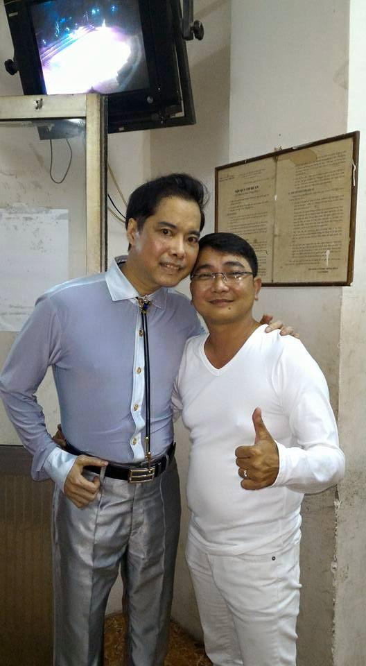 Ca sĩ Nhật Linh và ca sĩ Ngọc Sơn