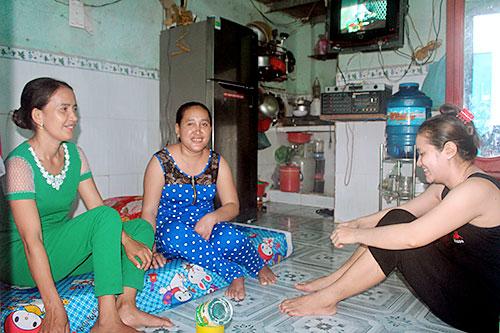 Chuyện lạ ở xóm trọ công nhân người Khmer - Ảnh 1.