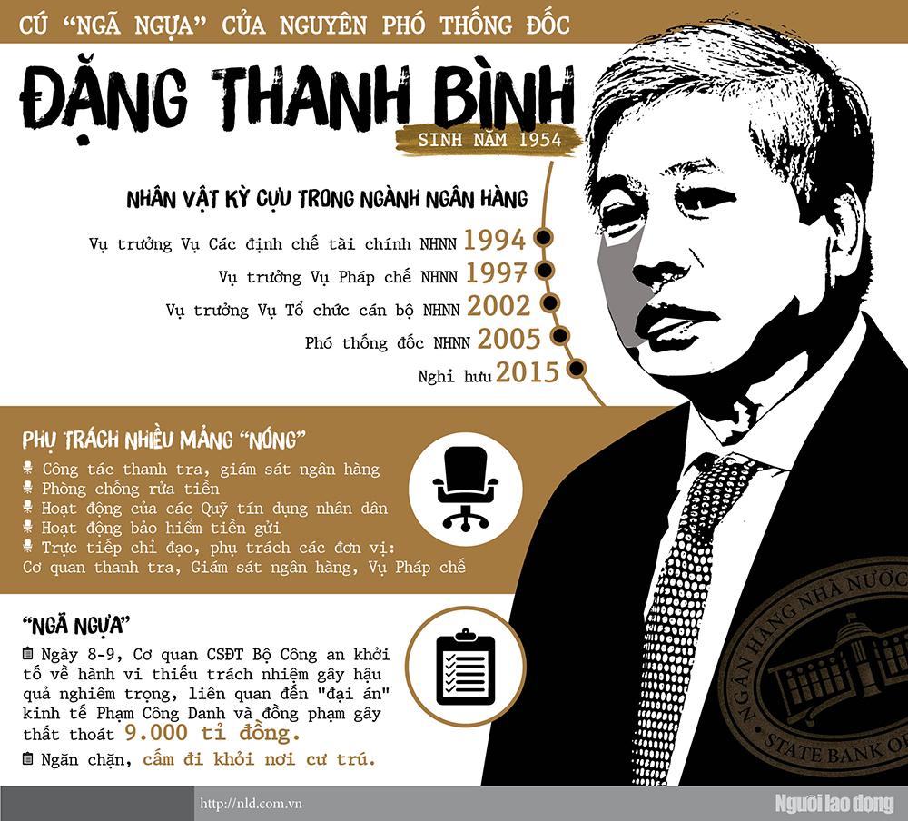 Cú ngã ngựa của nguyên Phó Thống đốc Đặng Thanh Bình - Ảnh 1.