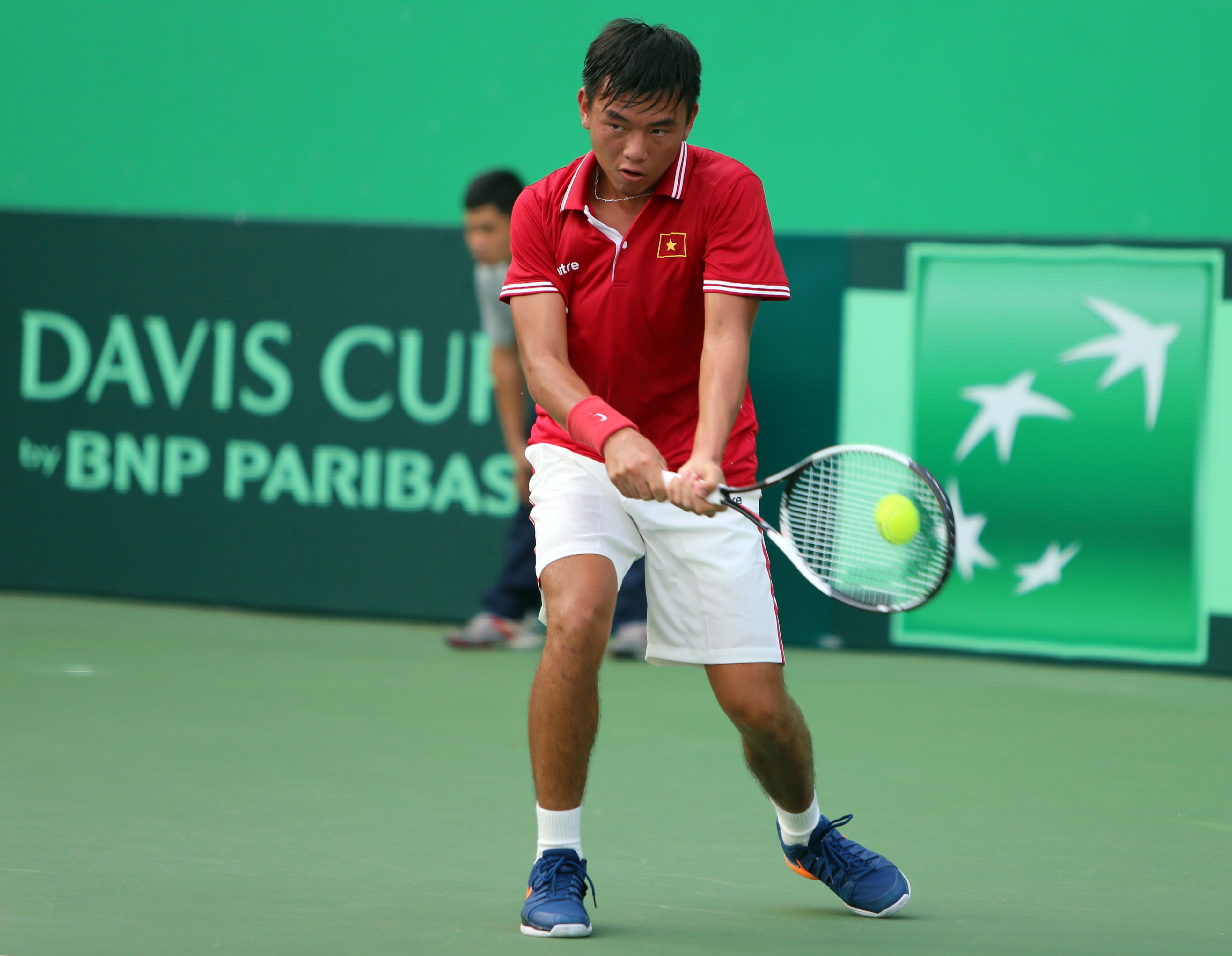 Hoàng Nam duy trì phong độ tốt từ Davis Cup