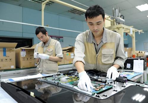 Công nghiệp điện tử Vĩnh Phúc bứt phá mạnh mẽ - Ảnh 1.