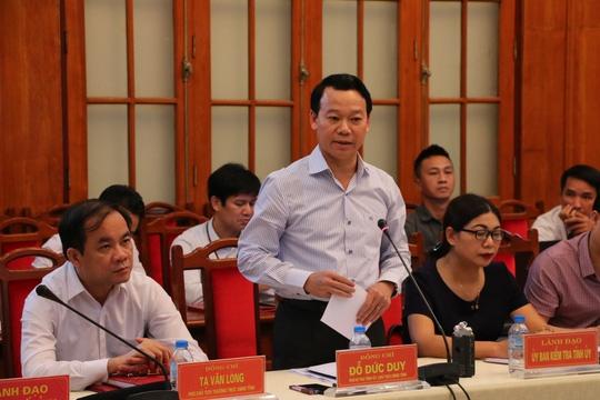 Chủ tịch tỉnh Yên Bái: Tỉnh không đề nghị lùi thời hạn công bố kết luận thanh tra - Ảnh 1.