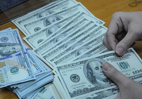 Đồng USD được dự báo còn tiếp tục giảm Ảnh: Hồng Thúy
