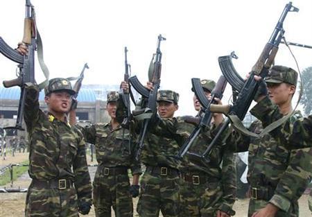Binh sĩ Triều Tiên đào ngũ do tình trạng thiếu lương thực ngày càng trầm trọng? Ảnh: Reuters