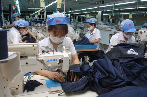 Ngành dệt may sẽ được đầu tư lớn trong năm 2017 Ảnh: Tấn Thạnh