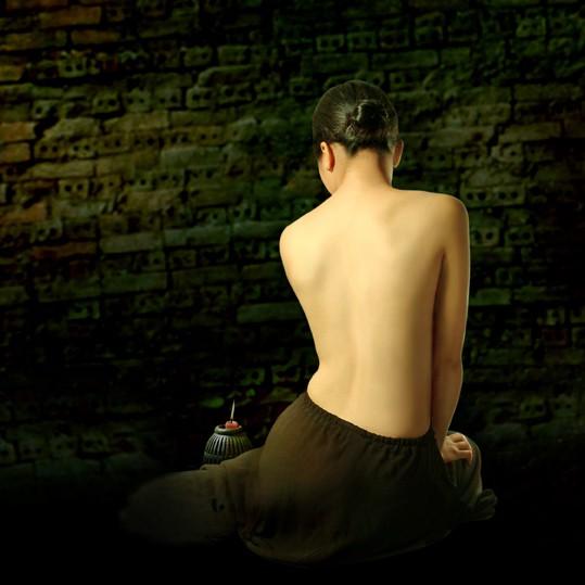 Ngắm ảnh lưng trần áo yếm của Dzũng Art - Ảnh 10.