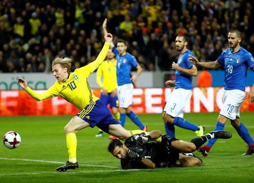 Thua Thụy Điển 0-1, Ý sắp văng khỏi World Cup - Ảnh 3.
