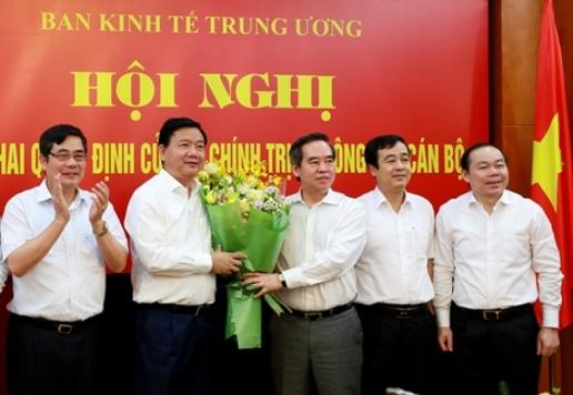 Ông Đinh La Thăng nhận nhiệm vụ tại Ban Kinh tế Trung ương - Ảnh 1.