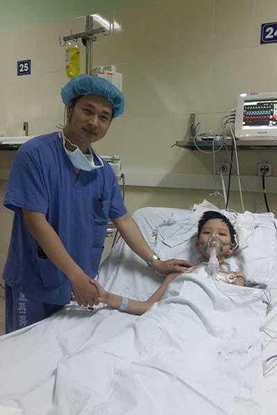 Đến chiều 22-3, sức khỏe của bệnh nhi Nguyễn Thành Đ. đã hồi phục tốt sau hơn 1 tuần ghép được tim