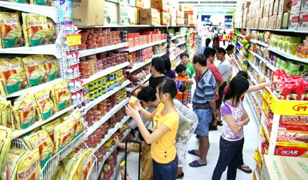 Theo thống kê, tỉ lệ hàng Việt trong kênh bán lẻ hiện đại đang chiếm 70-80%