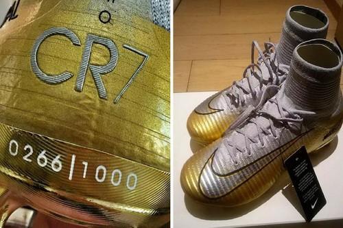 Nike tung giày độc mừng Quả bóng vàng Ronaldo - Ảnh 1.