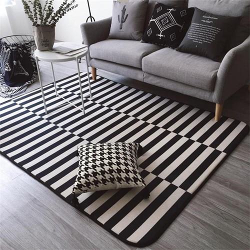 Lắng nghe phòng khách kể câu chuyện tấm thảm sọc trắng đen có phép mầu diệu kì - Ảnh 12.