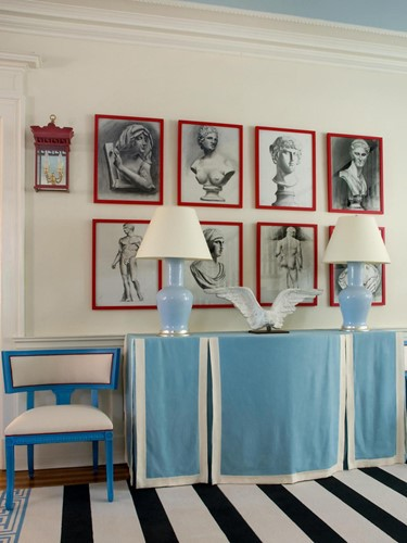 Lắng nghe phòng khách kể câu chuyện tấm thảm sọc trắng đen có phép mầu diệu kì - Ảnh 4.