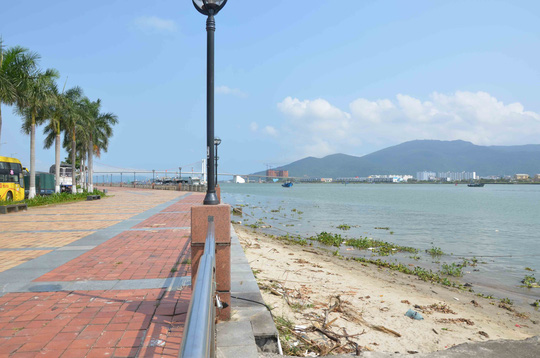 Khu vực dự kiến làm đường hầm chui sông Hàn - Ảnh: Như Nguyệt