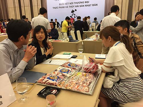 Doanh nghiệp Nhật giới thiệu sản phẩm thực phẩm đến thị trường Việt Nam