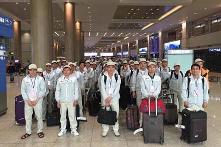 Lao động Việt Nam đi làm việc tại Hàn Quốc theo chương trình EPS.