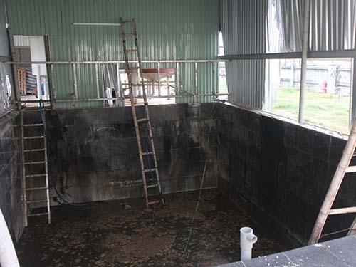 Hầm nước cá, nơi 5 người tử nạn