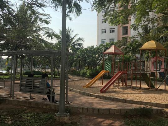 Công viên chung cư Lakeside, nơi ông Nguyễn Khắc Thủy bị tố cáo dâm ô trẻ emẢnh: Ngọc Giang