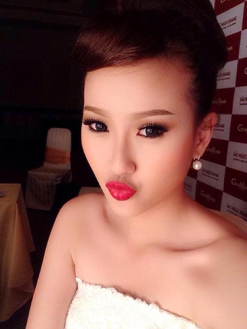 Vẻ đẹp không son phấn của Hoa hậu Hoàn cầu Khánh Ngân - Ảnh 8.