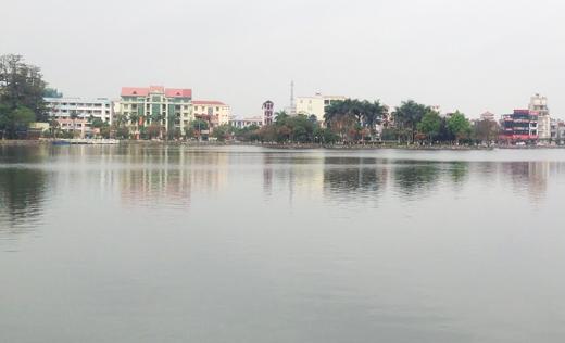 Hồ Bạch Đằng-nơi xảy ra vụ việc thương tâm