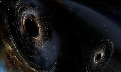 Phát hiện sóng hấp dẫn mới từ hai hố đen va chạm - Ảnh 1.