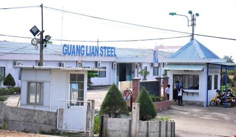 Dự án thép Hoà Phát Dung Quất tại tỉnh Quảng Ngãi đã được Thủ tướng đồng ý về mặt chủ trương đầu tư - Ảnh: PLO